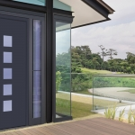Aluminium Entrance Door 8