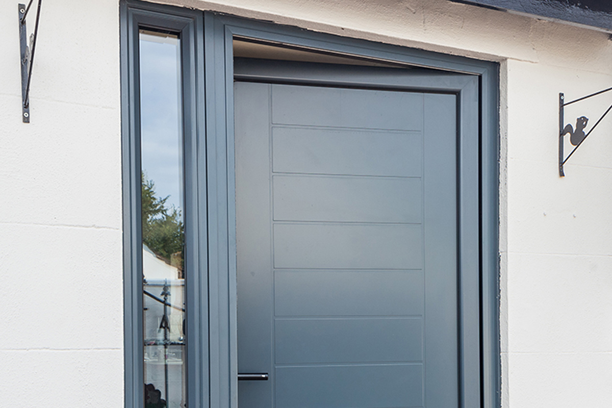 Aluminum Entrance door 3