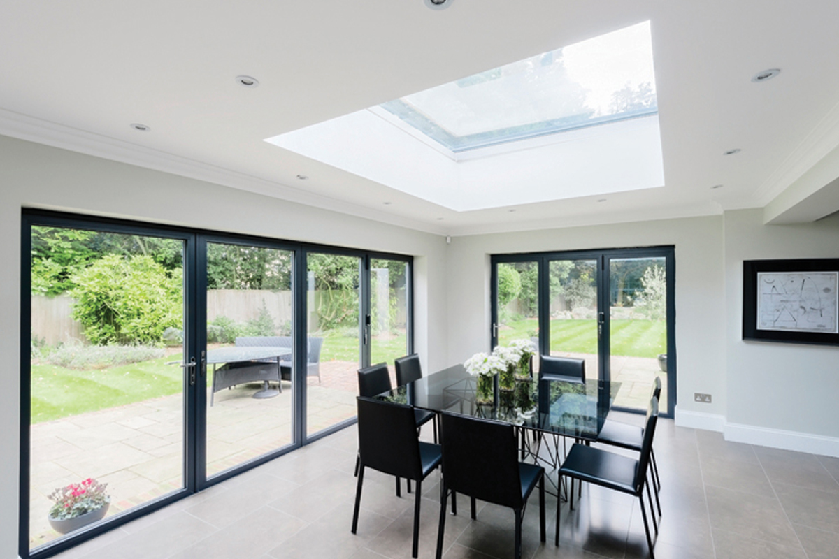 Flat roof light 1